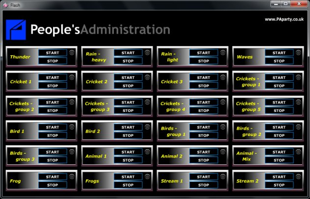 People's Administration Direct Democracy Audioscape Builder