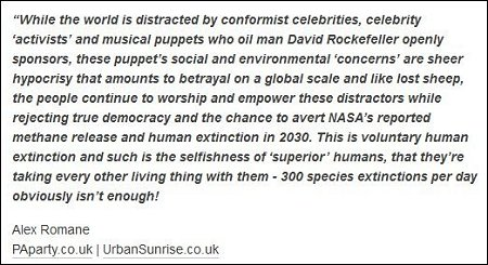 Alex Romane - puppets and human extinction