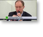 Direct Democracy Video: Cameron's unelected Ukraine coup 'leader' has schizophrenia